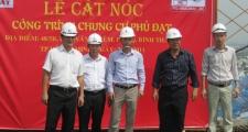 Lễ cất nóc công trình chung cư cao cấp Phú Đạt