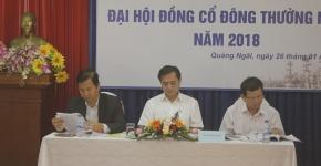Đại hội đồng cổ đông thường niên năm 2018 Công ty cổ phần Xây lắp Dầu khí Bình Sơn